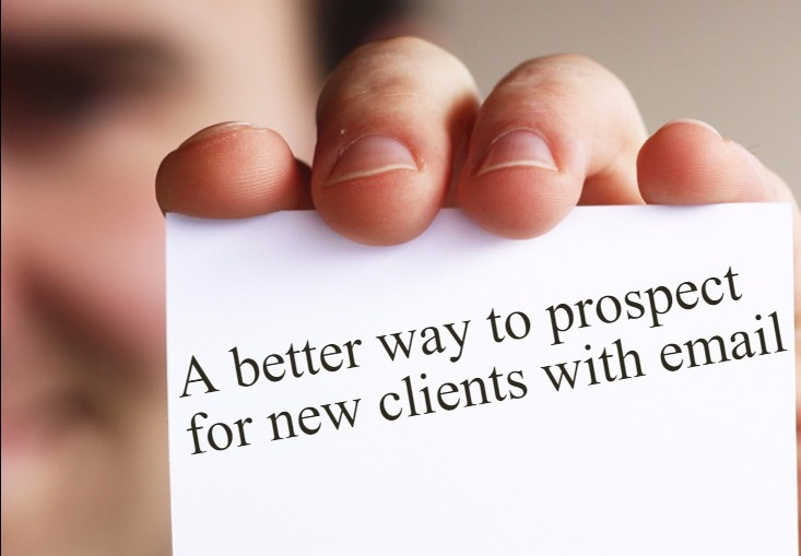 A better way to prospect