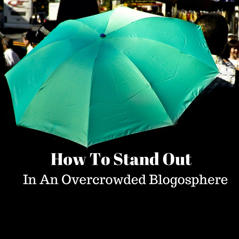 How To Stand Out- umbrella with text
