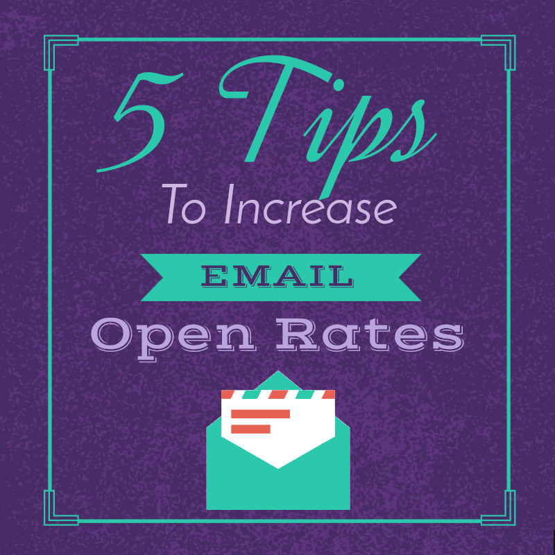 5 tips to increase email open rate