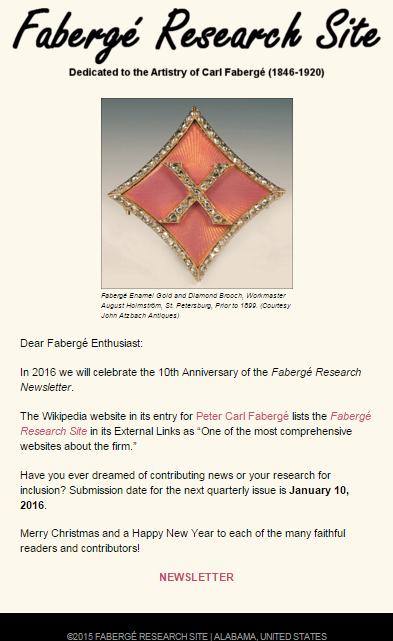 Faberge_Research_Site