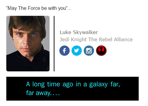 Star Wars Signature