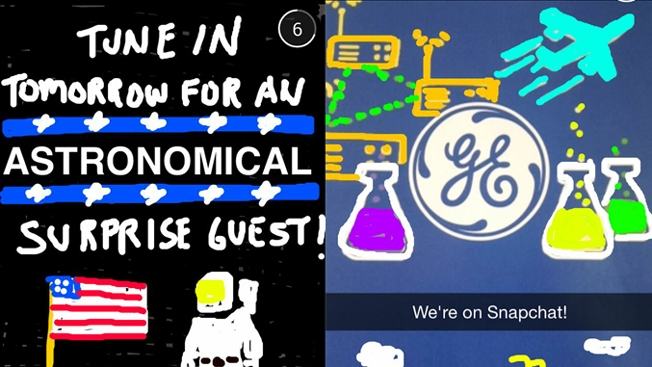 General electric on Snapchat