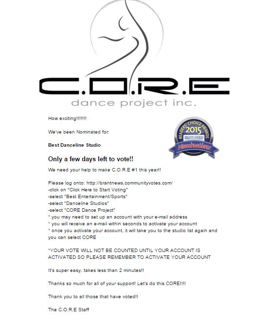 Core Dance Project