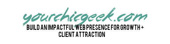 YourChicGeek Logo 5