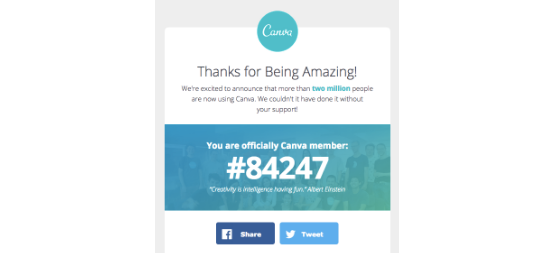 Canva Email Social Media Buttons