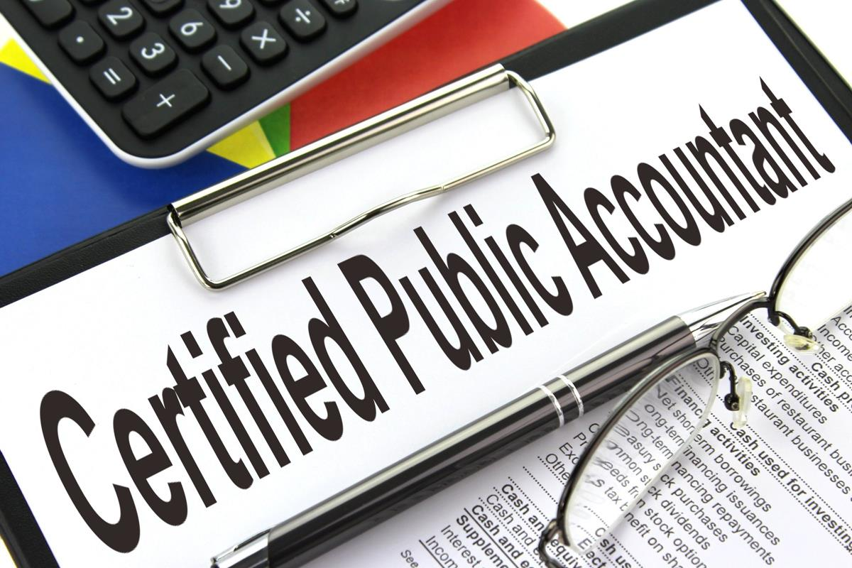 Certified public accountant small business