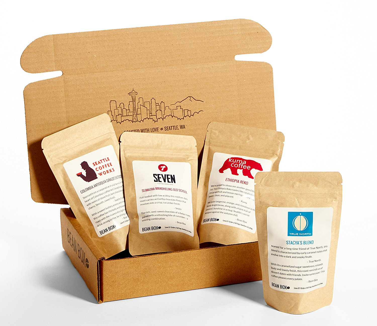 Coffe Sample Bean Box