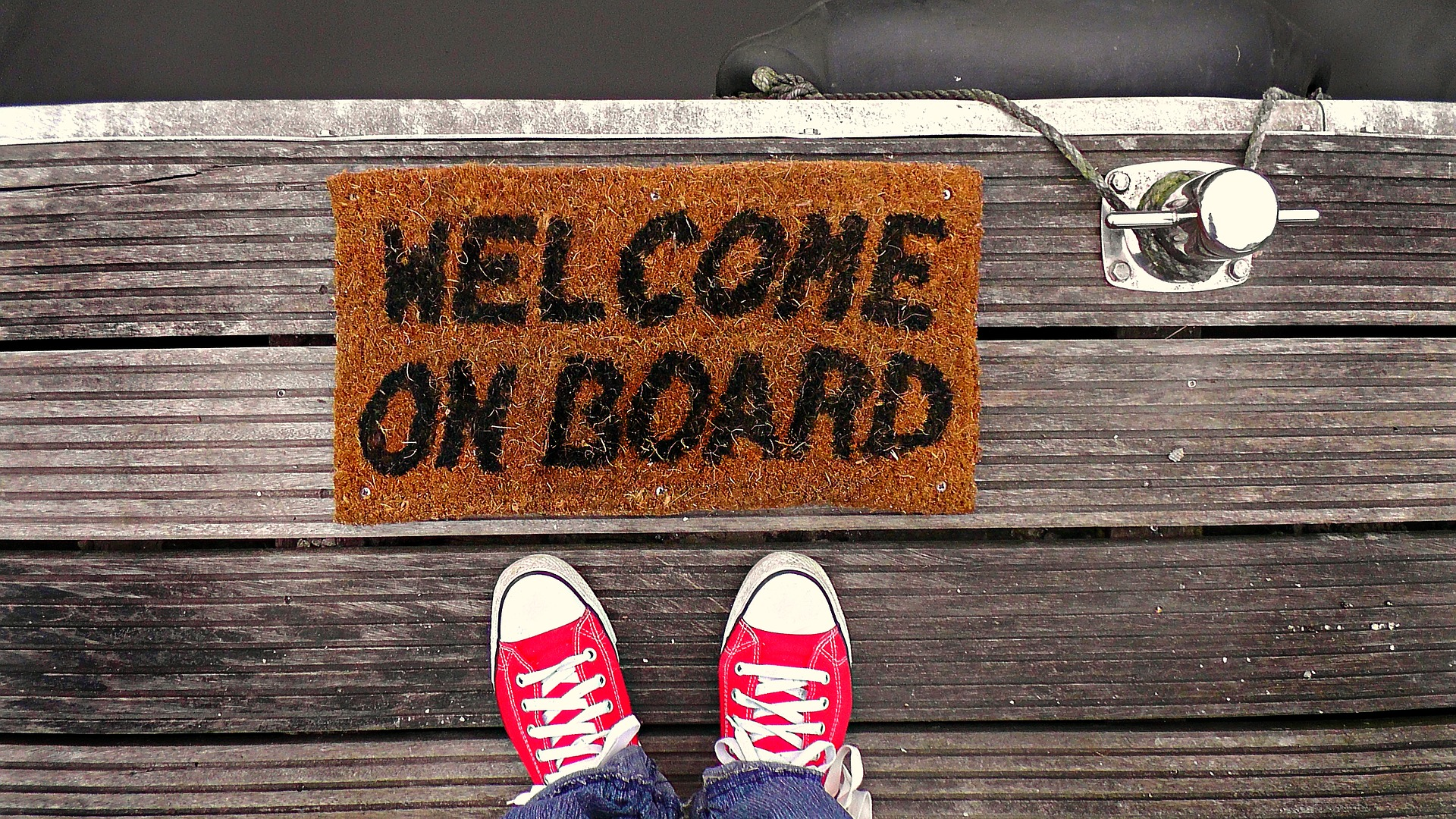 Onboarding new customers with email