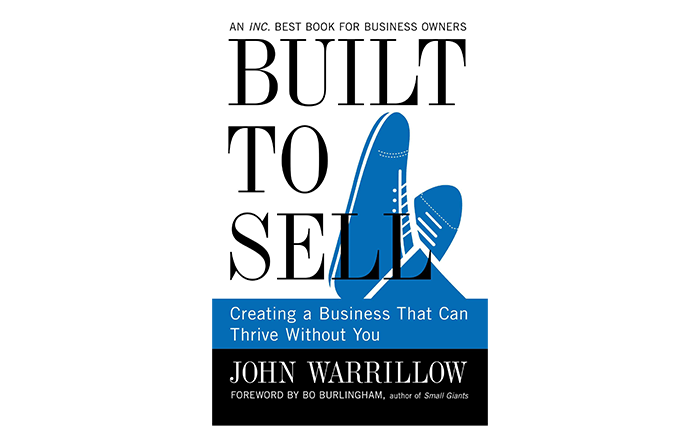Built To Sell book cover - top books for strartups