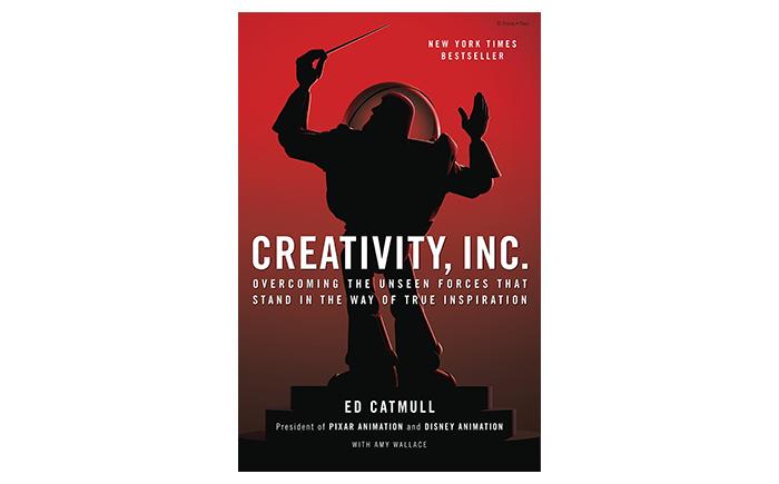 Creativity INC book cover - best books for sturups