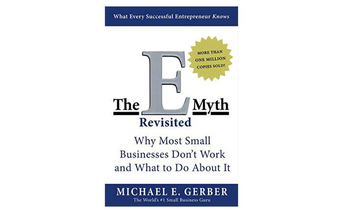 The E-Myth Revisited book cover - must read books for startups