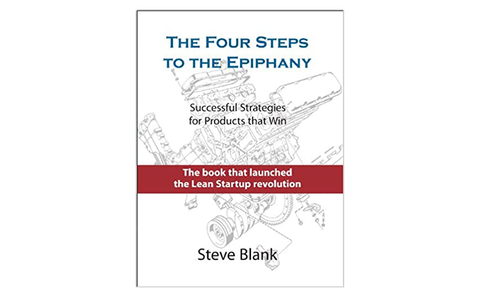 The Four Steps to the Epiphany book cover - top books for startup founders