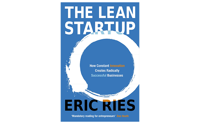 The Lean Startup book cover - top books for startups