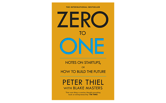Zero to One book cover - best startup books