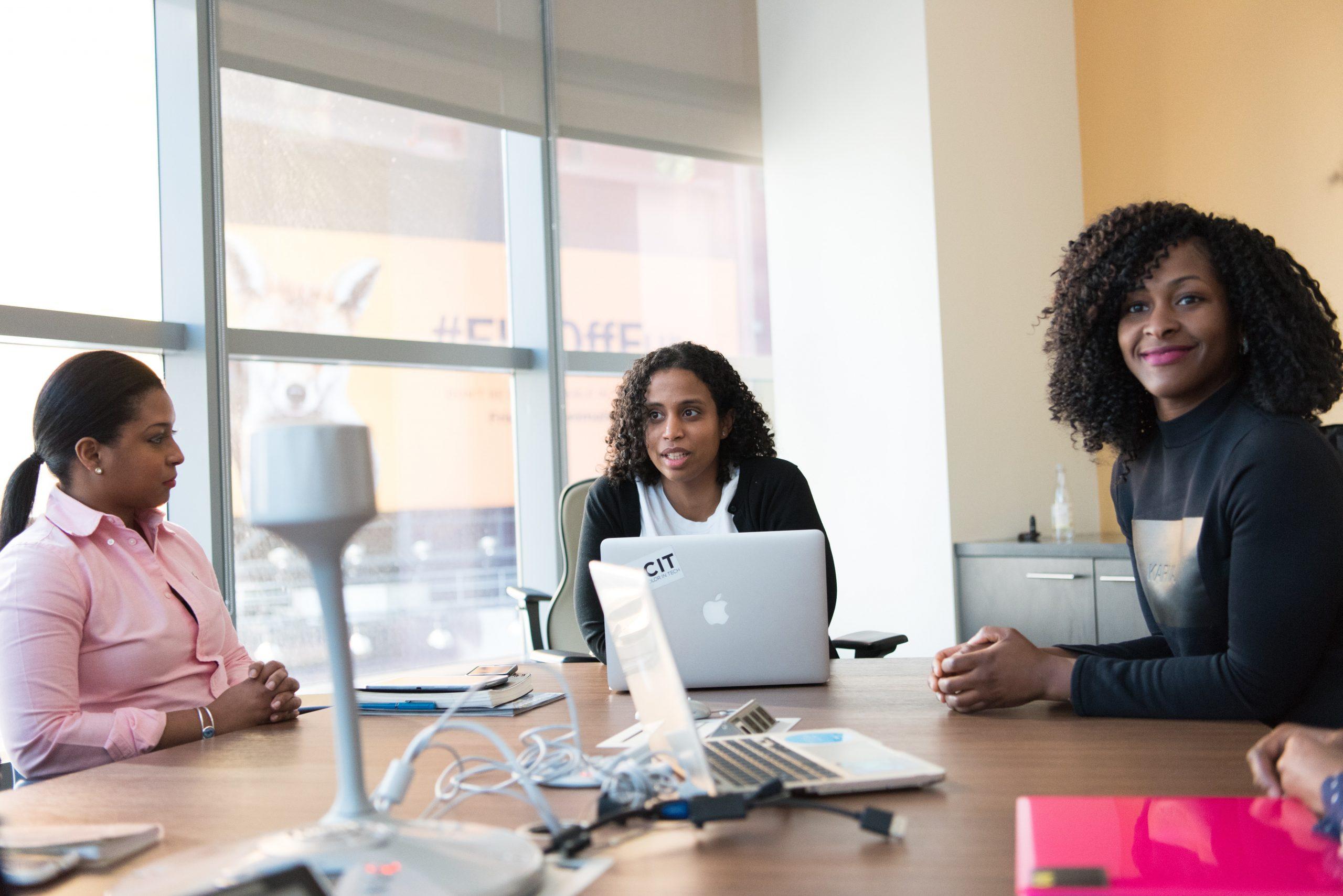 black women going business
