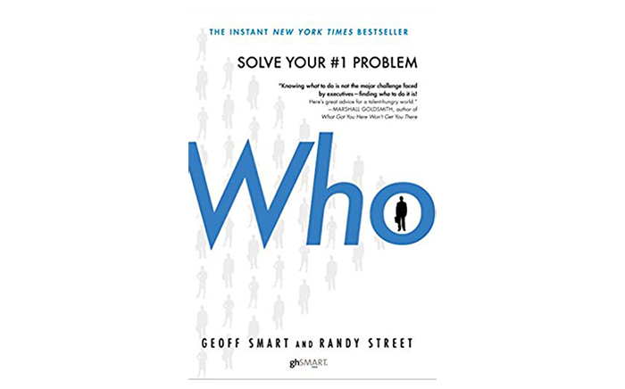 who book cover - best books for startups