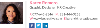 Signature for designer