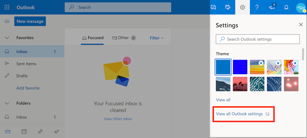 Add email signature to Outlook 365 and Outlook web app (OWA)- step 1
