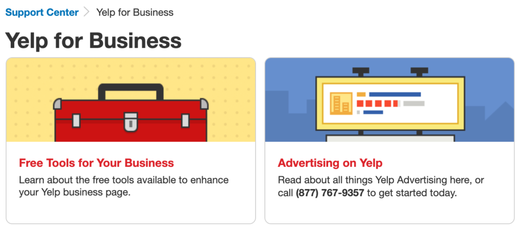 yelp for bussiness