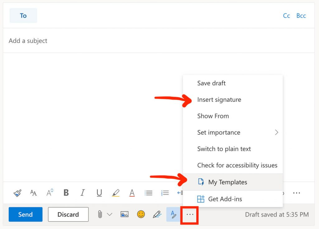 create multiple email signatures in outlook 365 and OWA using my templates