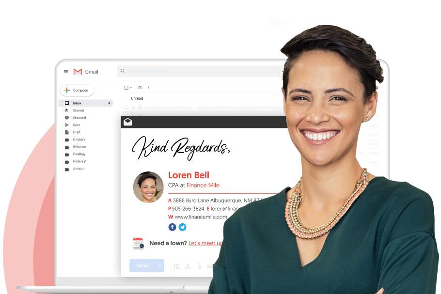 G Suite email signature management - Wisestamp