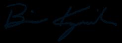 Brian Krzanich signature