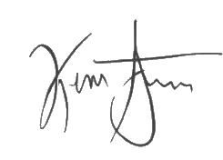 Kevin Systrom signature