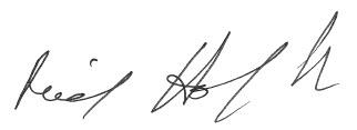 Reid Hoffman signature