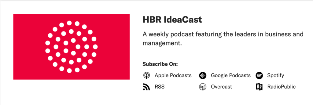 HBR podcast