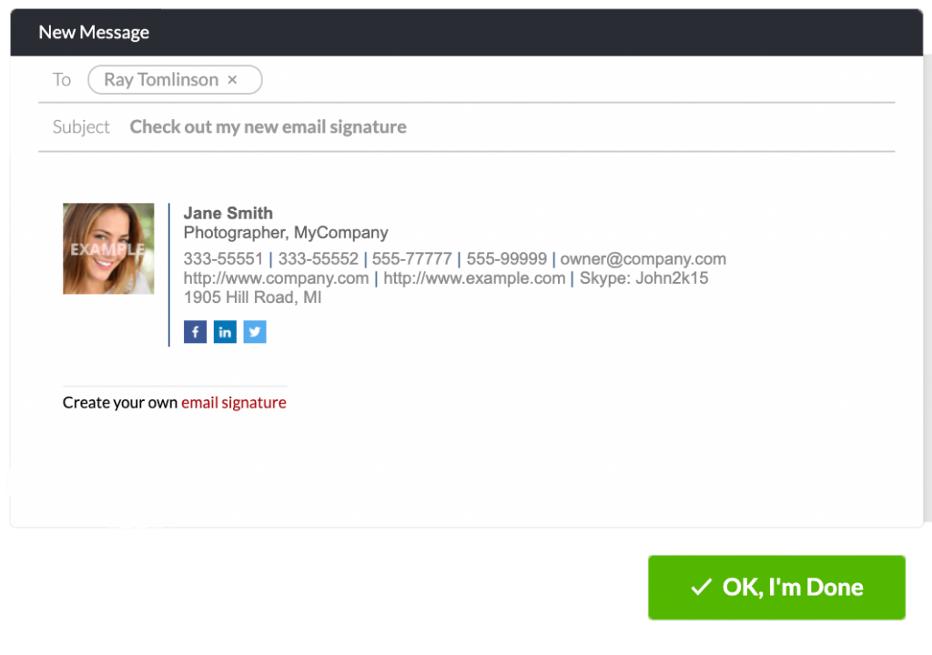 add instagram icon to email signature step 3 copy