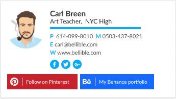 art teacher educational signature