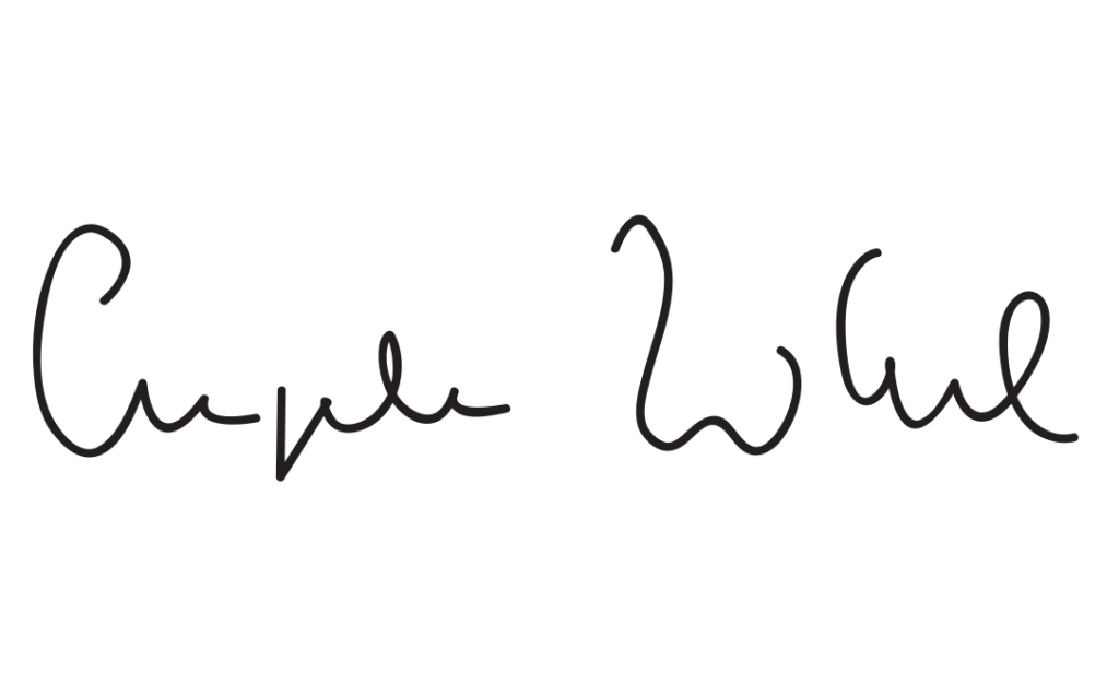 Angela Merkel Signature
