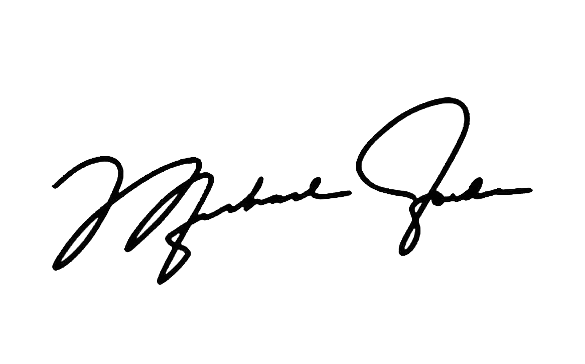 Michael Jordan personal autograph