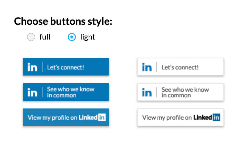 linkedin logos for email signature