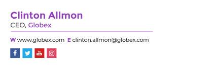 minimalist ceo email signature template
