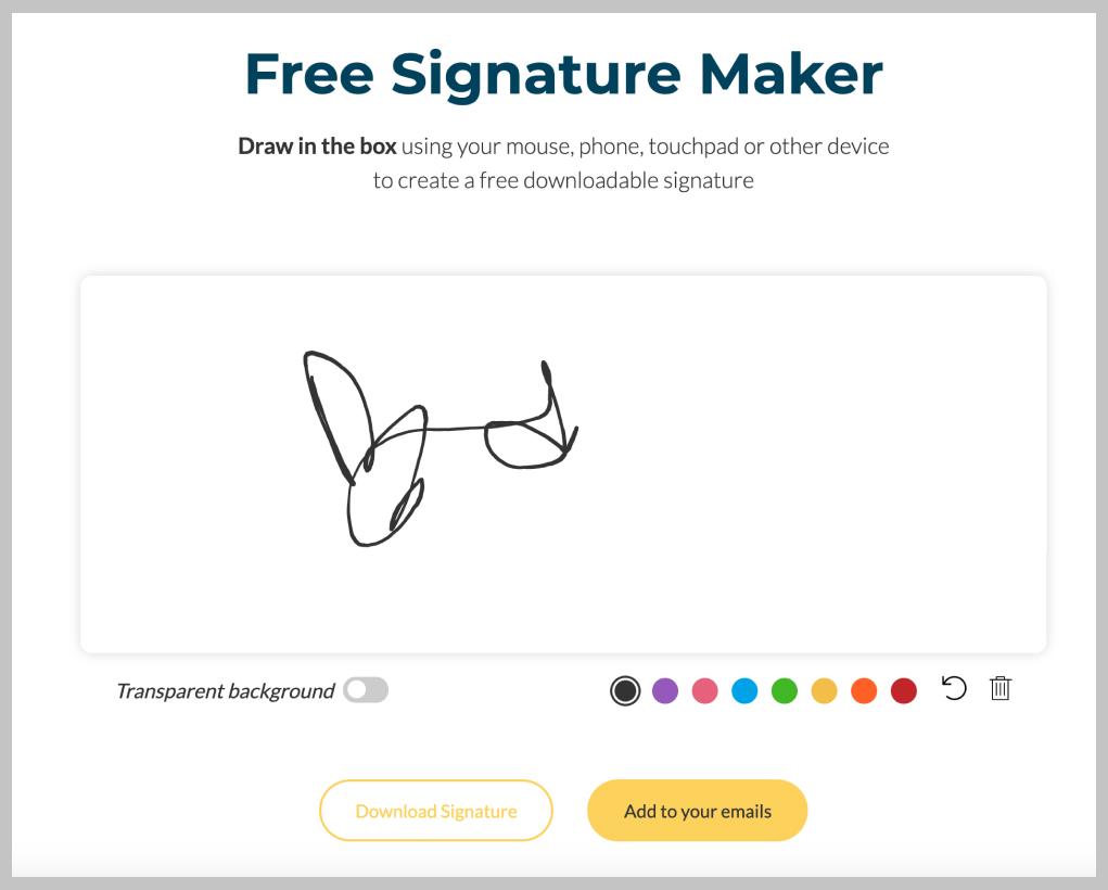 signature maker wisestamp