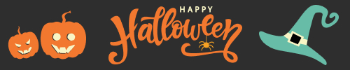 add a halloween banner to email signature