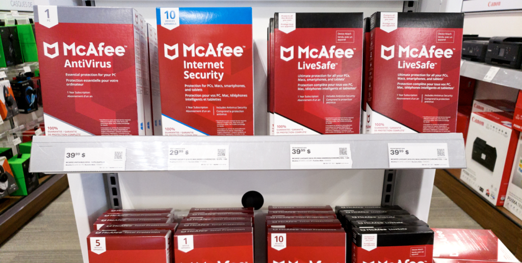 McAfee Antivirus Black Friday Software Deals