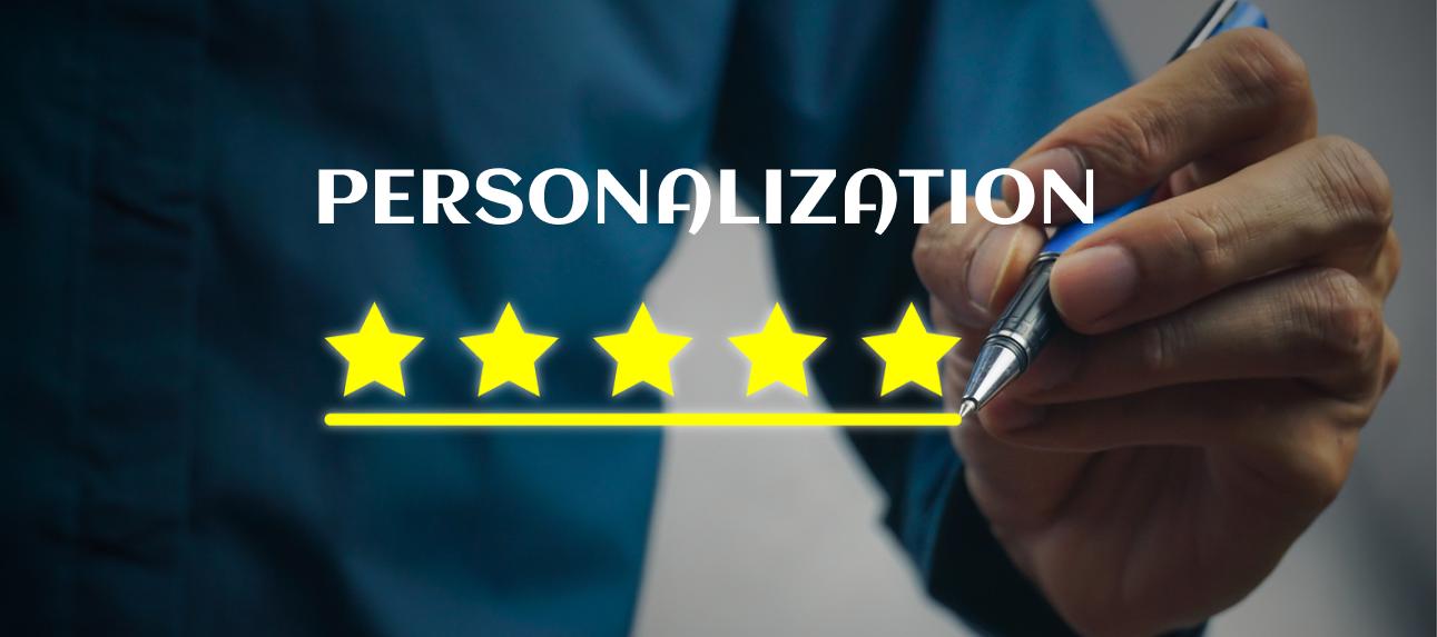 personalization five stars