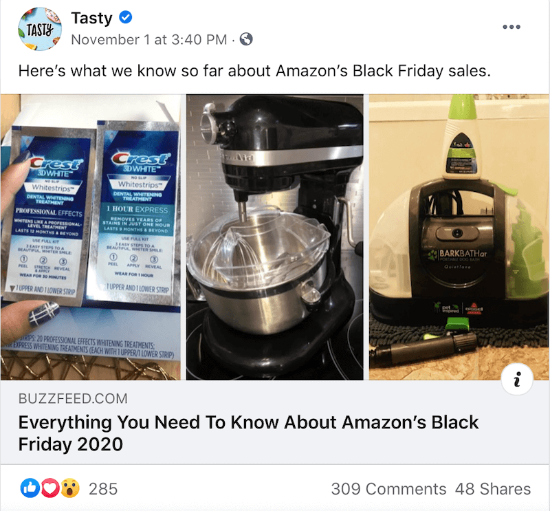 black friday social media campaigns