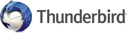 Mozilla Thunderbird for email icon
