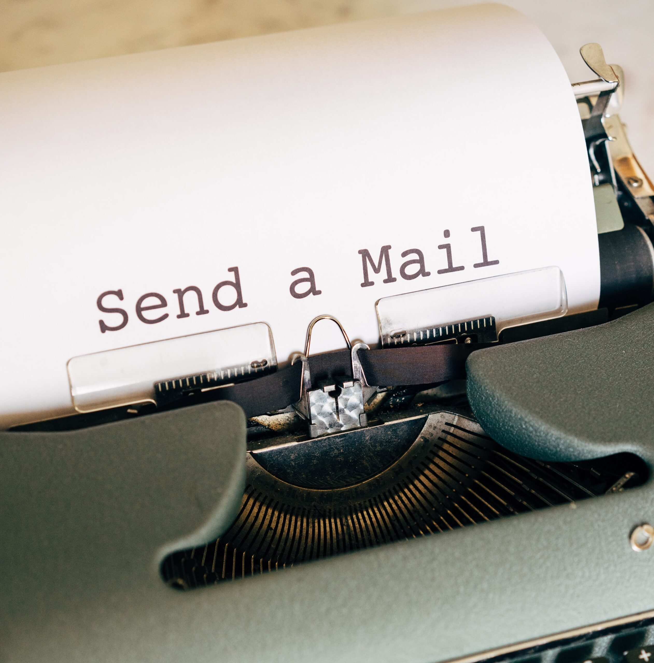sending an email with opening line