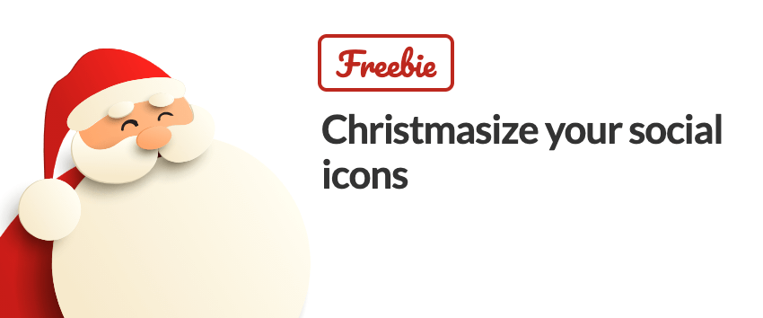 Christmas email signature social media icon christmas tree decoration