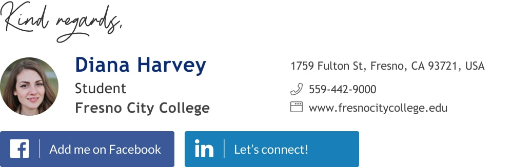 college student email signature example-min