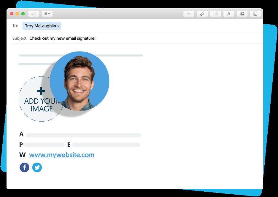 Add a signature in Mac Mail