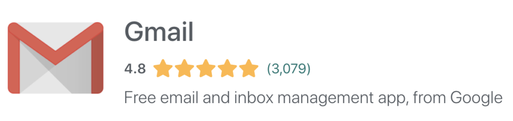 gmail email review