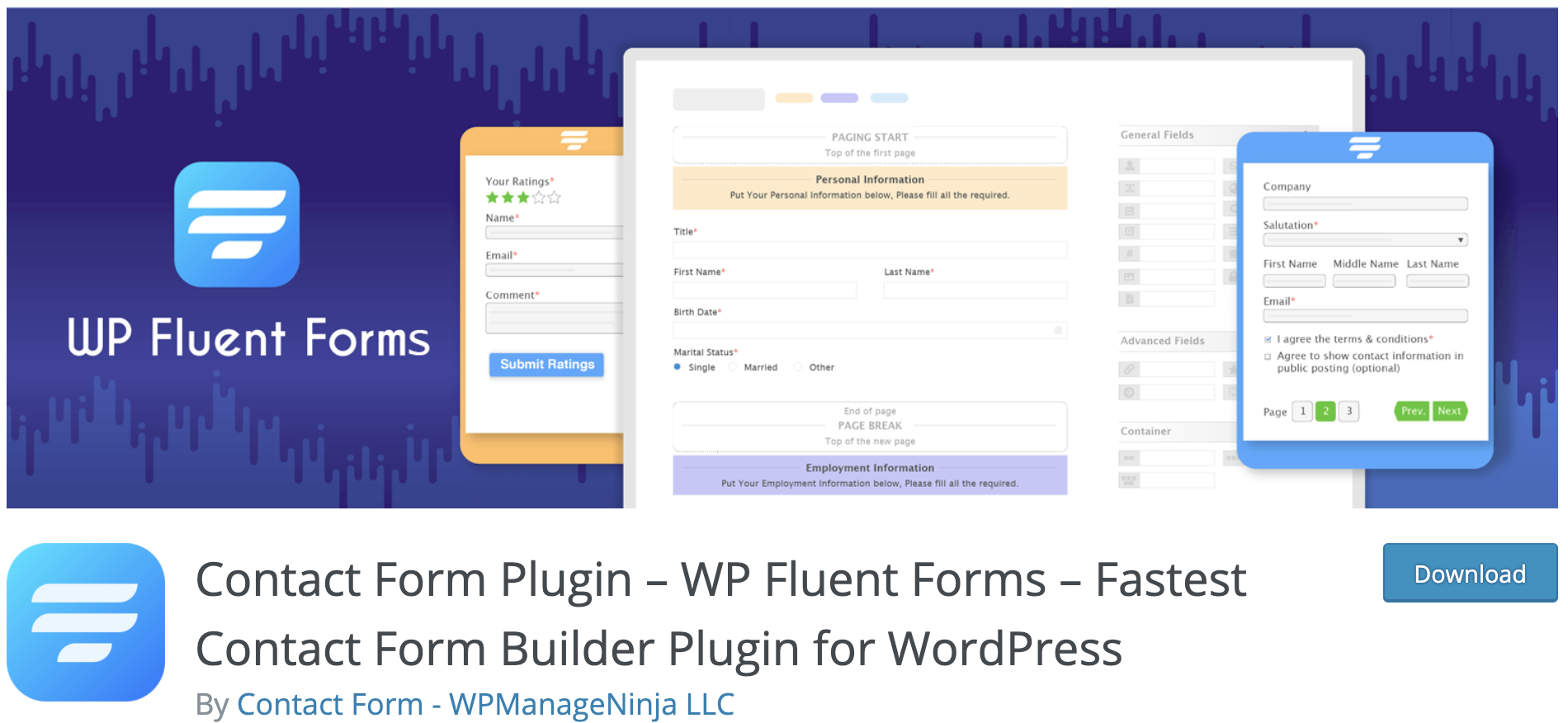 fluent forms payment solution plug in on wordpress