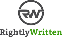 Top email copywriting services rightly written logo