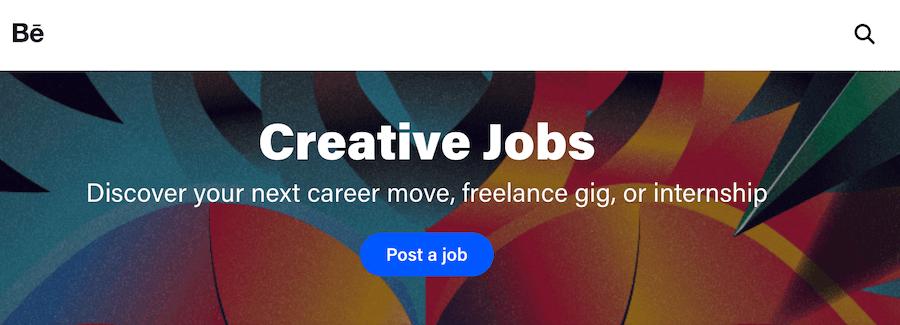 Behance - best design and artist freelance website