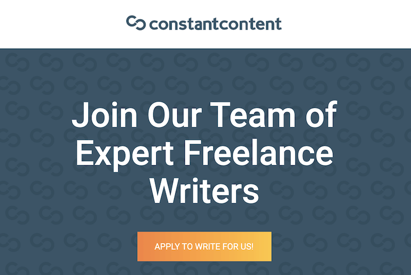 Constant content - online writing jobs